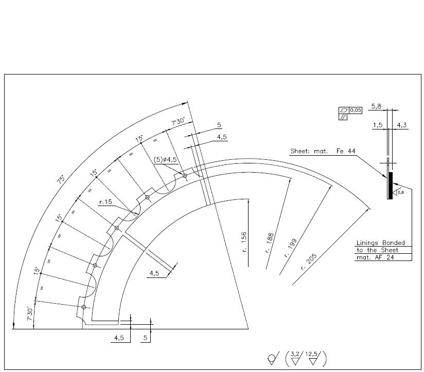 New Brake Pads&Lining Devolopment